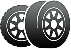 two tires icon